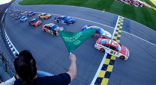 NASCAR Drama at Kansas Speedway