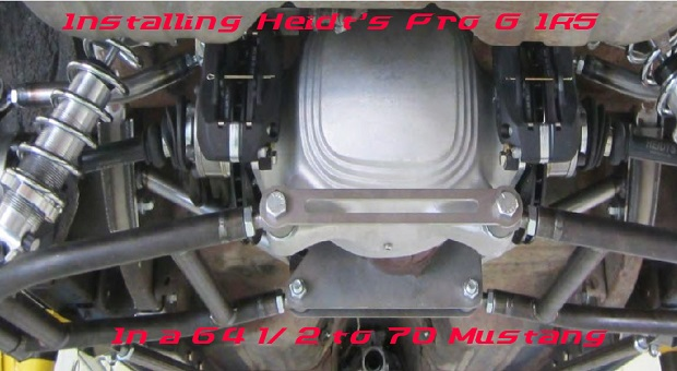 Installing the Heidts Pro G on a '64-70 Mustang – RacingJunk