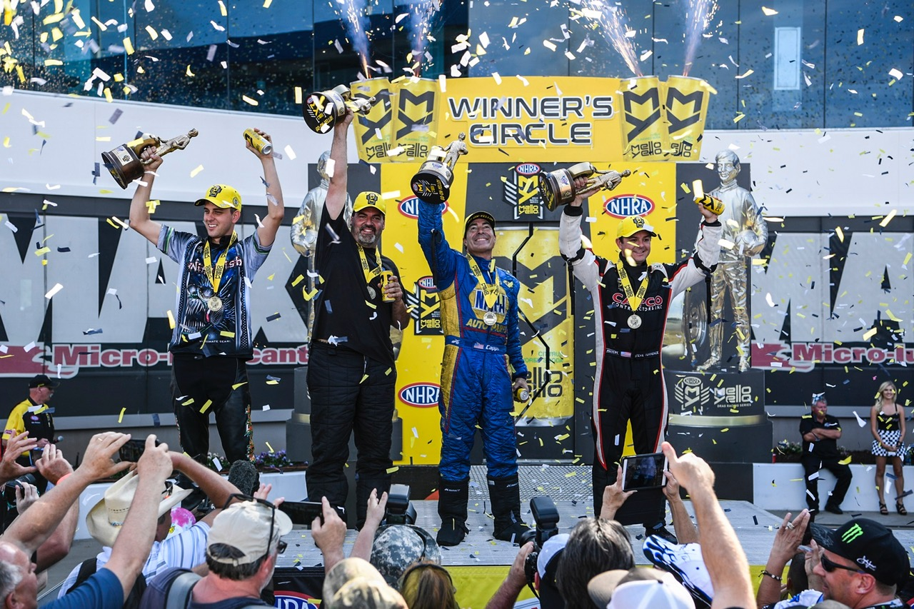 Torrence, Capps and McGaha Find Victory at 2017 NHRA Four-Wide Nats