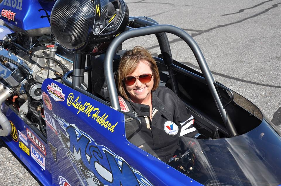 Super Pro Dragster Driver Leigh Hubbard