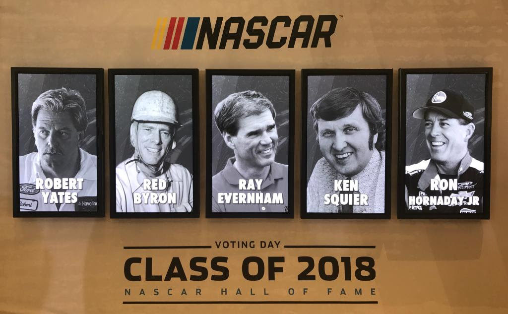 NASCAR Hall of Fame 2018 Announcement