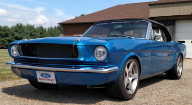 '65 Mustang Convertible on Steroids