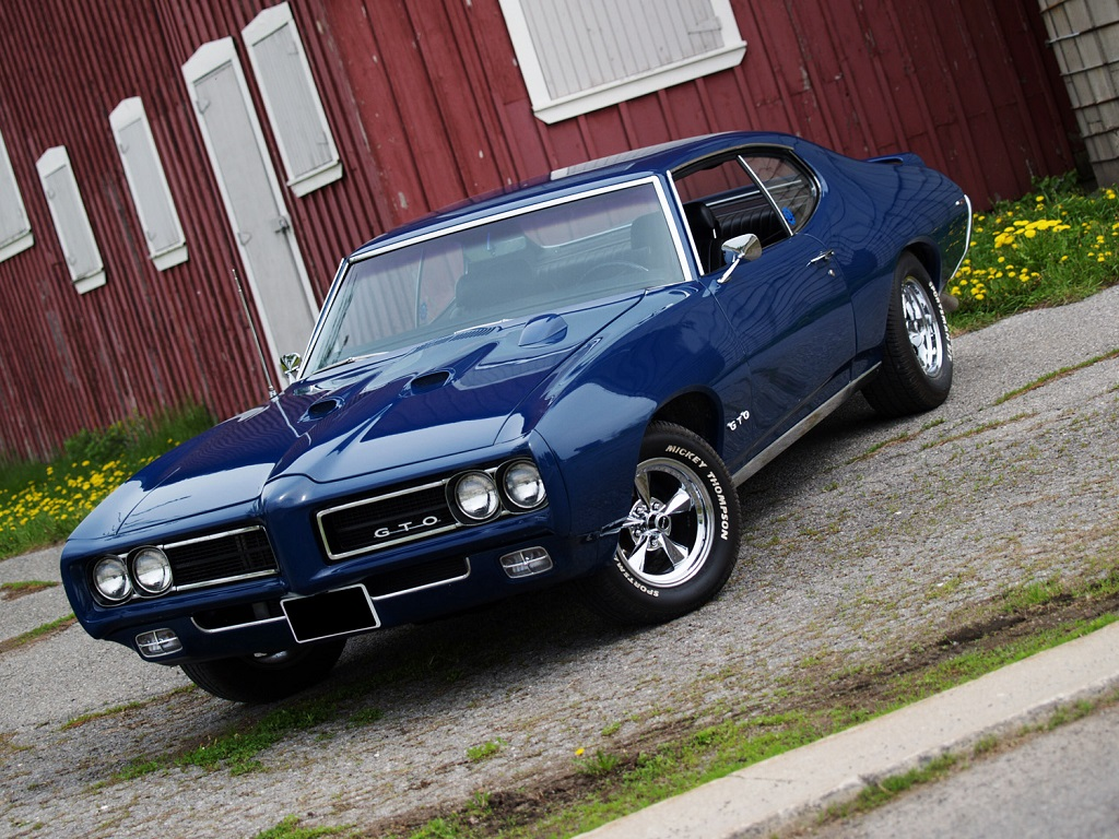 Muscle Car Madness 1969 Pontiac Gto Racingjunk News