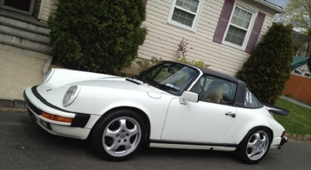 Today's Cool Car Find is this 1987 Porsche Targa