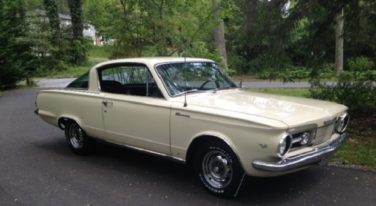 Today's Cool Car Find is this 1965 Plymouth Barracuda