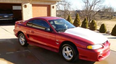 Today's Cool Car Find is this 1995 Ford Mustang