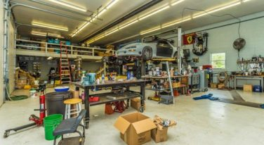 For Sale: Race Shop with Remodeled Home Attached!