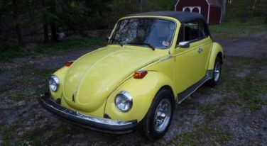 Today's Cool Car Find is this 1974 Volkswagen Super Beetle