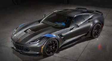 Jeff Gordon's Corvette