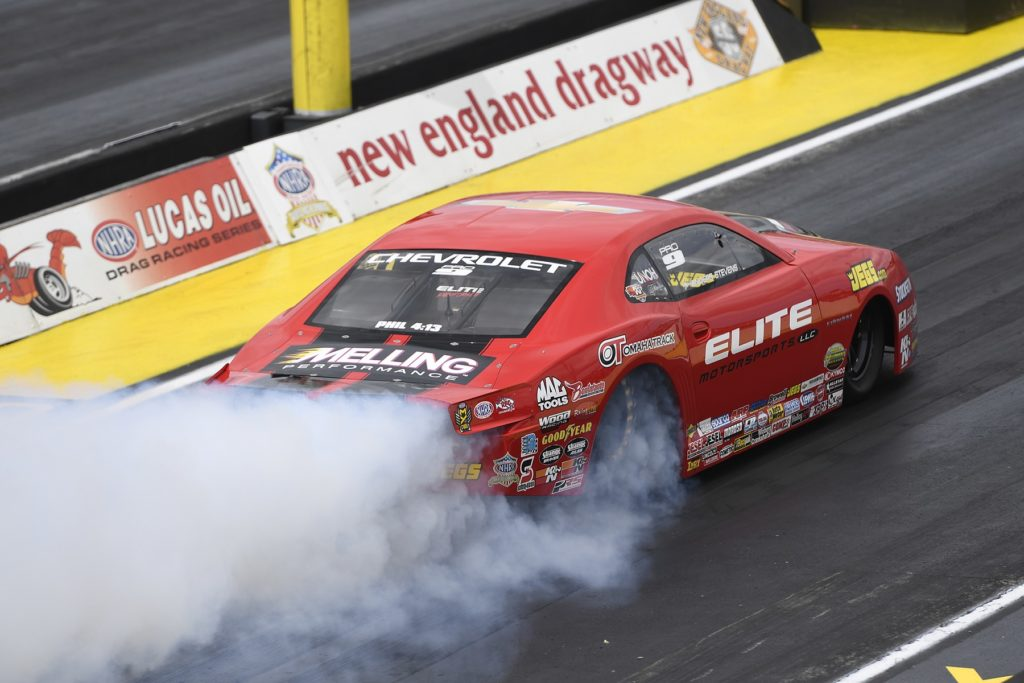 Enders Ends Drought, Force Takes a Victory at NHRA Epping Race
