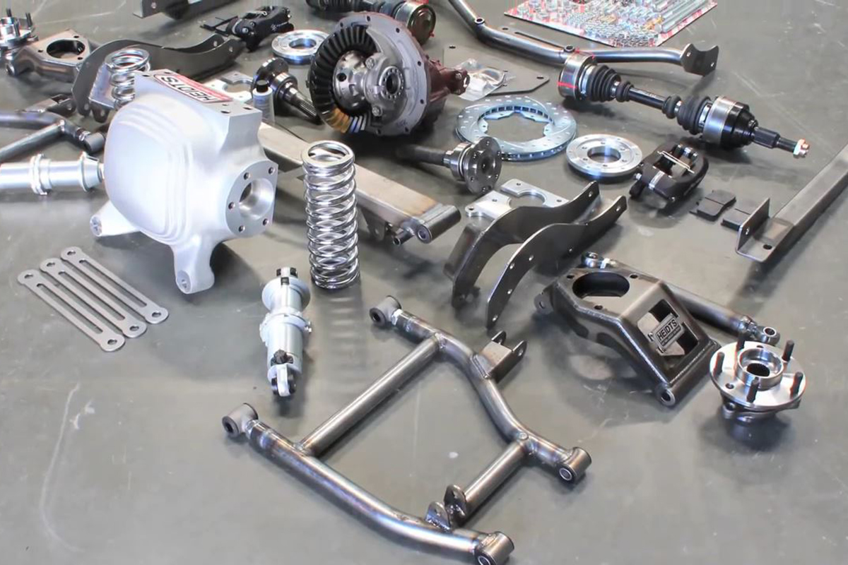 Installing the Heidts Pro-G IRS System in a 67 to 69 F-Body