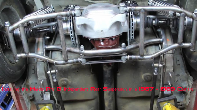 Installing The Heidts Pro G Irs System In A 67 To 69 F Body