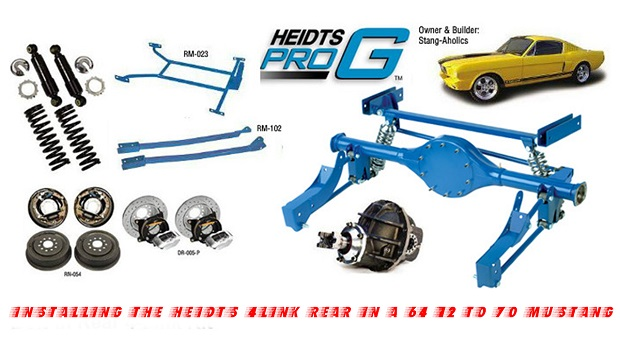 How to Install a Heidts 4-Link in 64 5-70 Mustang