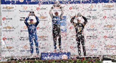 Scott Dixon Pushes Through Pain from Indy Crash for a Podium Finish in Detroit