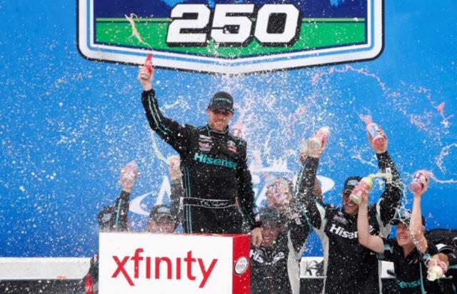 Celebrating Father's Day NASCAR Style