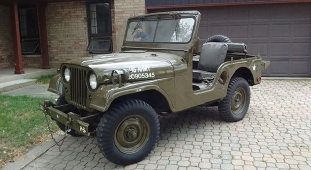 Today's Cool Car Find is this 1963 Kaiser-Jeep M38A1