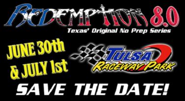 Redemption 8.0 Returns to Tulsa Raceway
