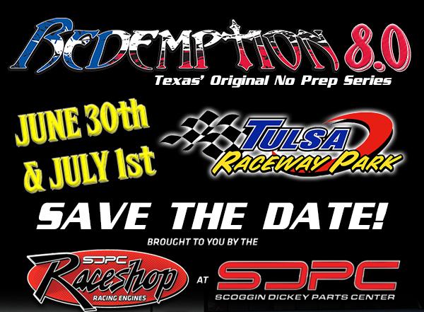 Redemption 8.0 Returns to Tulsa Raceway