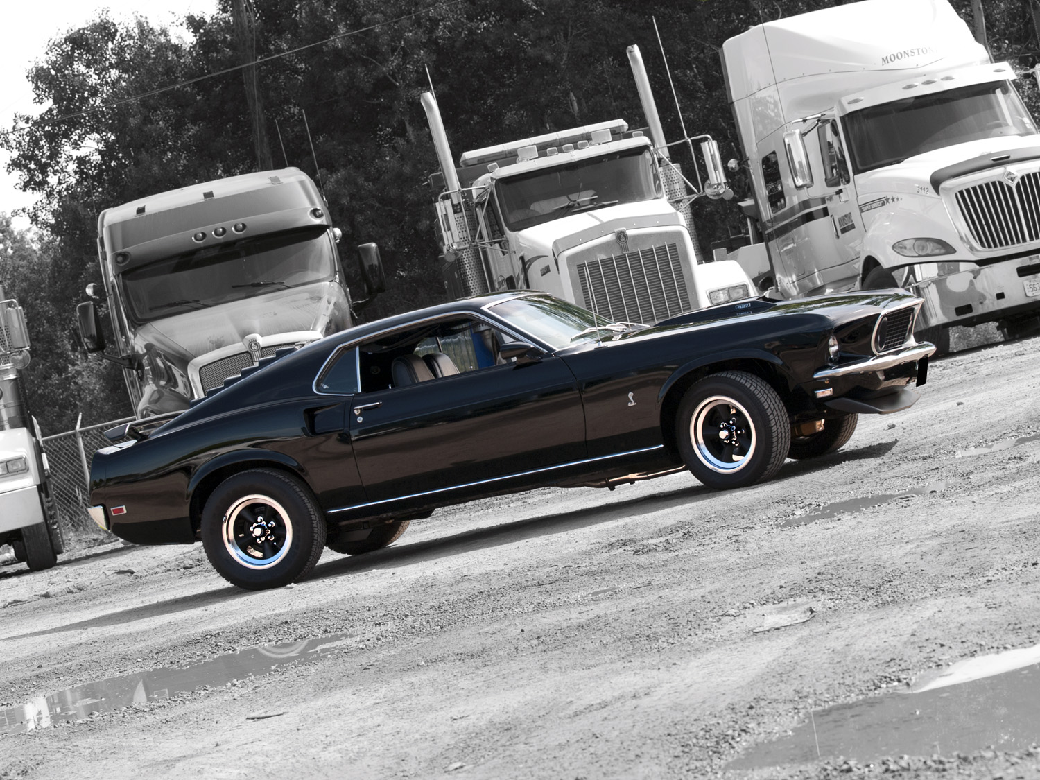 Muscle Car Madness: 1969 Ford Mustang Mach 1 – RacingJunk News