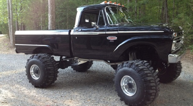 Today's Cool Car Find is this 1966 Ford F-100