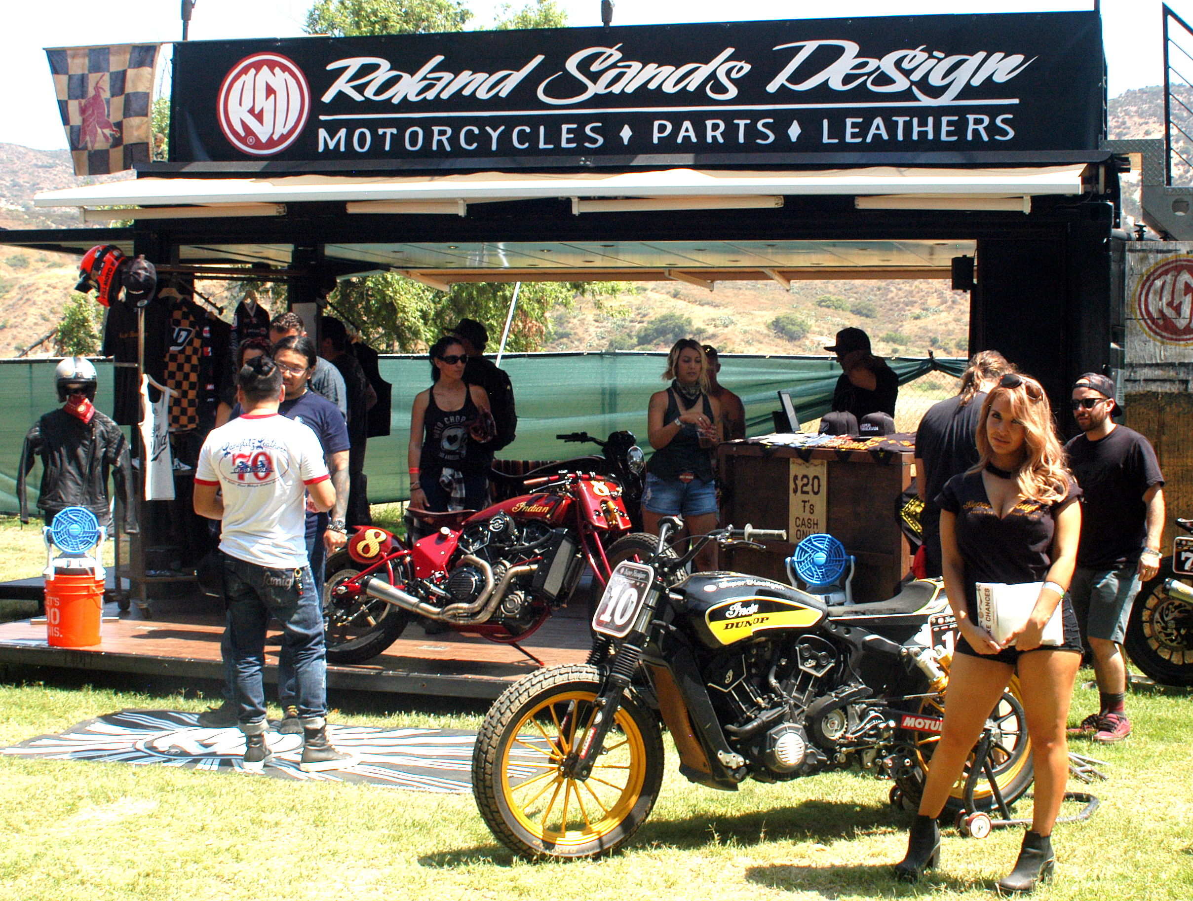 Harleys at Born Free 9th Annual Rally