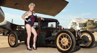 Boston Bombshell Pinup