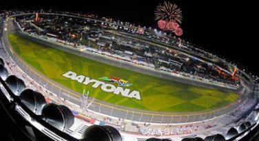 Fireworks Fly at Daytona International Speedway