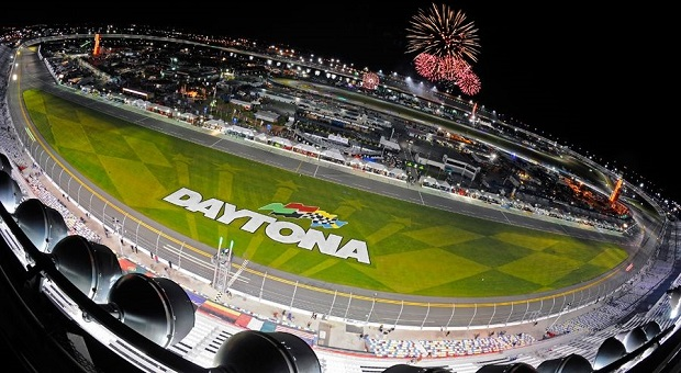 Fireworks Fly at Daytona International Speedway