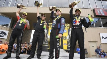 NHRA Mile High Dreams Come True for Brown, Hight and Skillman