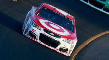 Target Steps Away from Racing