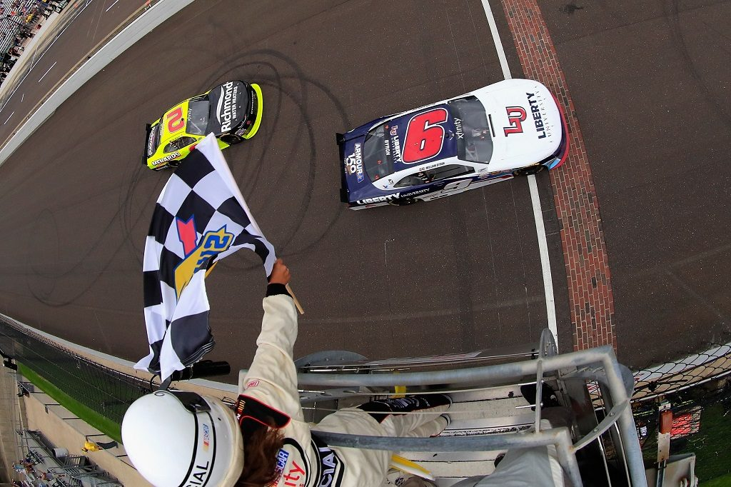 Rising NASCAR Stars Earn Their Place at the Brickyard