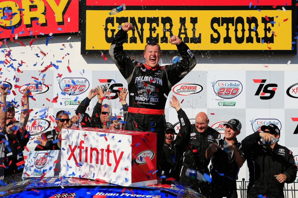 Preece, Bell, and Busch Take Victories in NASCAR