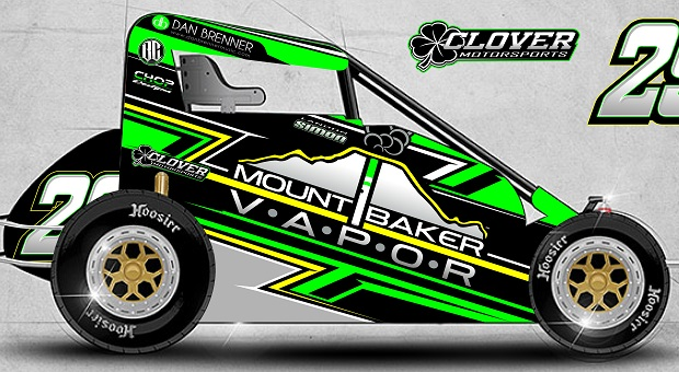 Landon Simon To Race for Clover Motorsports During PA Midget Week