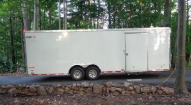 Today's Cool Car Find is this 2013 American Hauler Enclosed Trailer