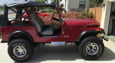 Today's Cool Car Find is this 1986 Jeep CJ7
