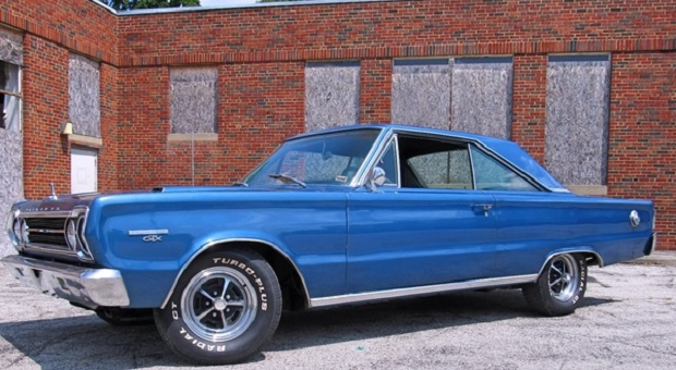 Today's Cool Car Find is this 1967 Plymouth GTX