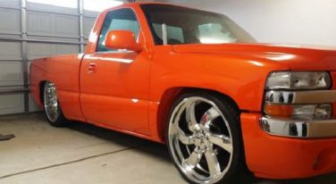 Today's Cool Car Find is this 2002 Pro Street Chevy Shortbed