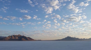 Saturday on the Bonneville Salt Flats
