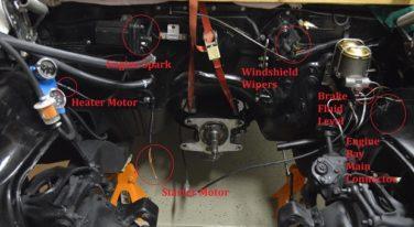 Rebuilding a 1967 Chevy Camaro Part 3: Engine Bay Wiring