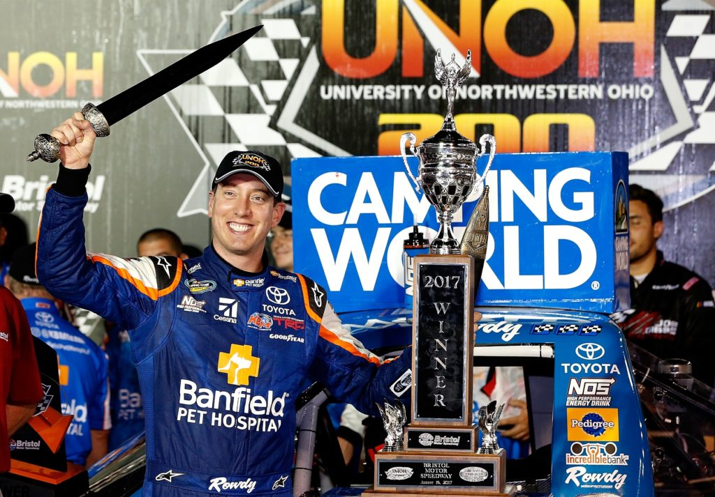 Busch Sweeps at NASCAR Bristol Race