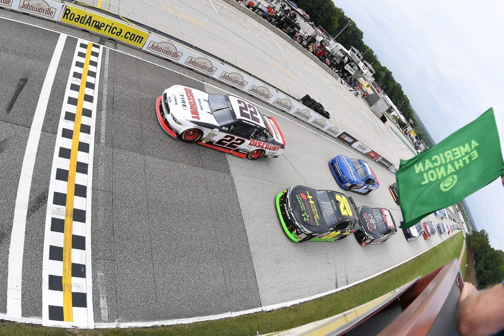 Jeremy Clements Races to Win at Road America