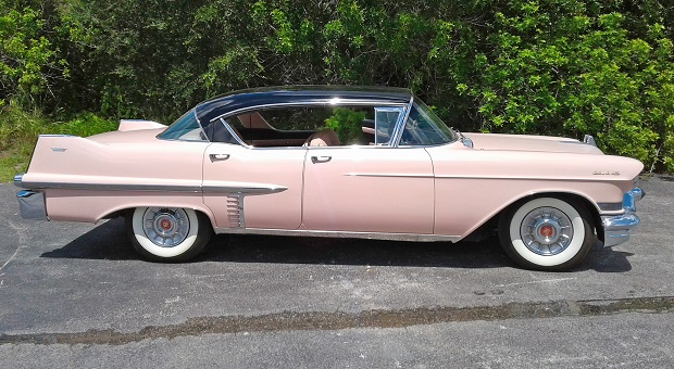Elvis Presley's Restored 1957 Cadillac
