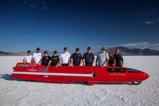 Thompson to Attempt Third World Speed Record at Bonneville Motorcycle Speed Week