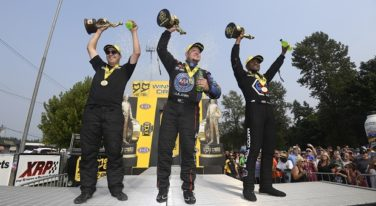Brown, Hight, and Skillman Prevail at 2017 NHRA Northwest Nats