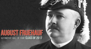 August Fruehauf Inducted into Automobile Hall of Fame
