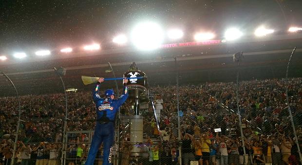 Busch Sweeps at NASCAR Bristol Race