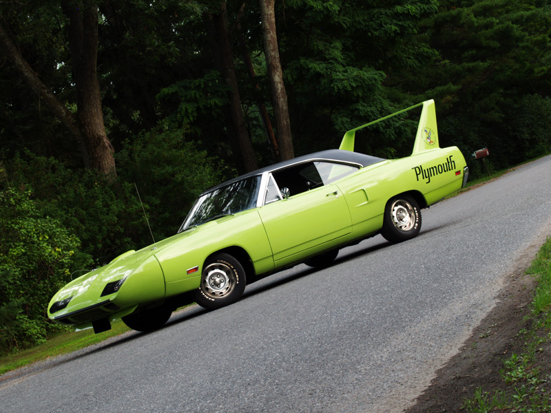 Muscle Car Madness: 1970 Plymouth Roadrunner Superbird