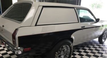 Today's Cool Car Find is this 1972 Vega Panel Wagon