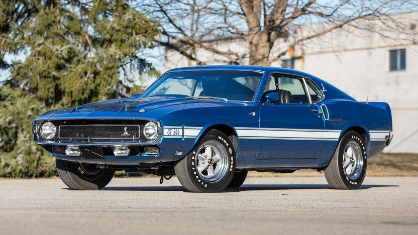 Four Shelby Stars on Auction at Mecum Louisville