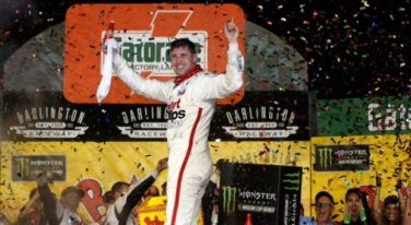 Denny Hamlin Sweeps Throwback Weekend at Darlington Raceway